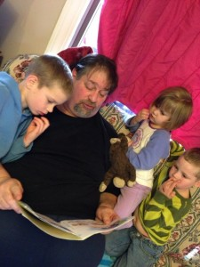 ....Reading to the Grandkids