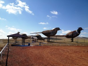 Enchanted Highway Stop #5 - Pheasants on the Prairie