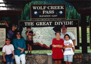 Wolf Creek Pass in Colorado July 1993