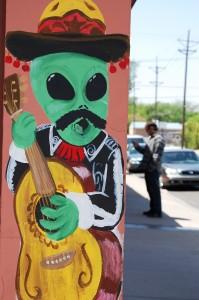 Alien Mariachi guitar?