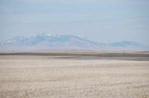 Sweet Grass Hills north of US Hwy 2