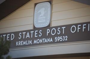 Kremlin Post Office, Kremlin, Montana