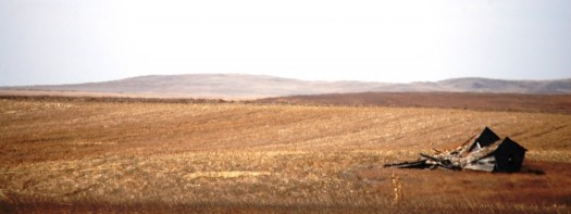 Typical Landscape in North and South Dakota