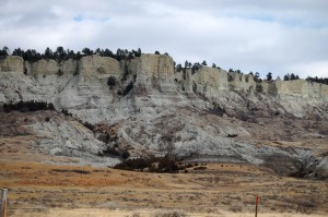 Badlands in Northern South Dakota off of HWY 79