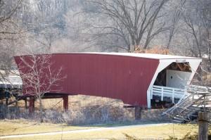 Side view of the Cedar Bridge