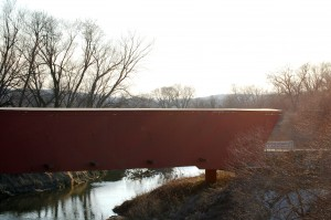 Holliwell Covered Bridge, Scott, Iowa