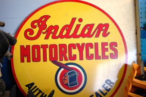 Mike's favorite subject - Indian Motorcycles - Antique Archaeology