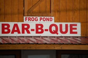 Frog Pond Bar-B-Que - Frog Pond, Tennessee
