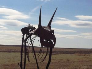 Rudyard Dinosaur - Front View