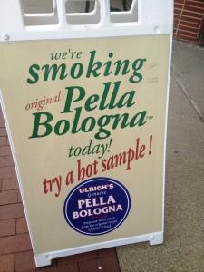 Try smoking Pella Bologna