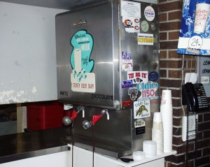 Old Style Milk Machine