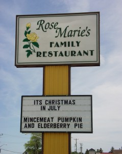 Rose Marie's Family Restaurant - Shakespeare, Ontario