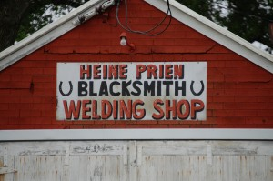 Heine Prien - Blacksmith - Tripp, SD