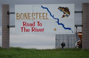 Bonesteel Welcome Sign