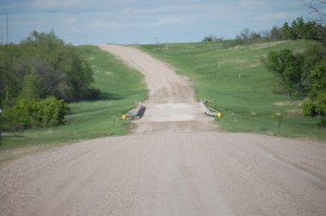 SD 63 near Norris, SD -- 23 miles of gravel road