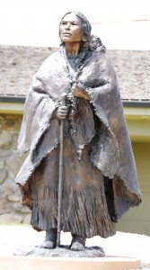 Old Indian Woman -m Cody, Wyoming