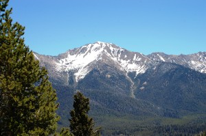 More of the Boulder Mountains heading north in ID 75