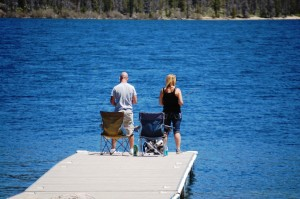 Fishing on Alturas Lake