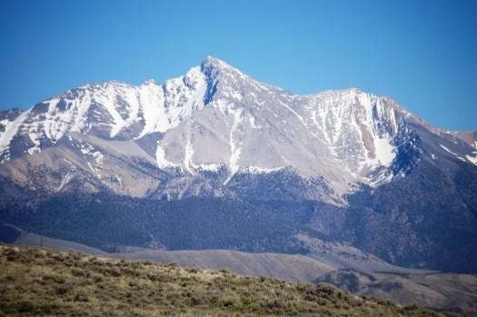 Mount Borah as seen from Willow Creek Summit, Elev 7160 feet