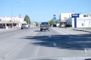 Downtown Mackay, Idaho