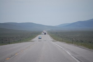 US 30 South of Cokeville, WY