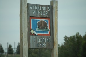 Wyoming's Wonder Sign - Kemmerer, WY