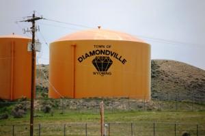 Diamondville Water Tank