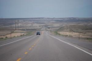 US 30 East near Granger, Wyoming