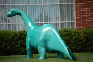 Famous Sinclair Dinosaur at Little America