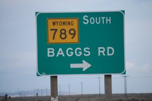 Baggs Rd - WY Hwy 789