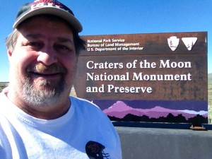 Craters of the Moon Entrance