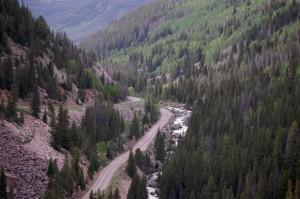 US 24 north of Redcliff, Colorado
