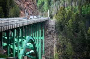Green Bridge near Redcliff, Colorado