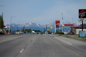 Entering Leadville, Colorado