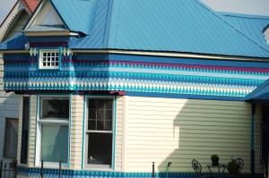 Unique architecture - colorful Victorian designs