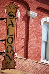 Old Saloon Sign in Buena Vista