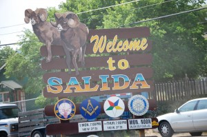 Welcome to Salida, Colorado
