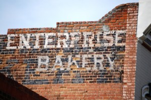 Enterprise bakery wall ad - Salida, Colorado