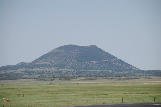 Capulin Volcano - part of the Capulin National Monument