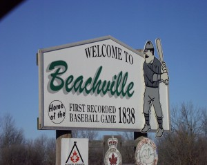 Welcome to Beachville, Ontario