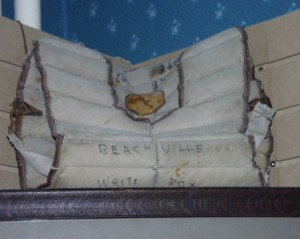 Old Chest Protector in Beachville Museum
