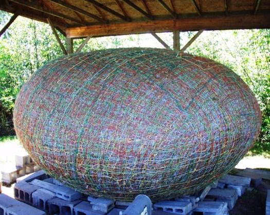 JFK's Twine Ball - 19,600 pounds