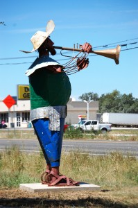 15 foot Tall Mariachi Trumpet Player - Bertram, Texas