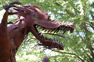 Big Dragon - Jurustic Park - Marshfield, Wisconsin