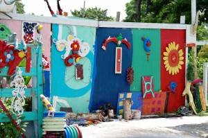Flower Man House - Houston, Texas