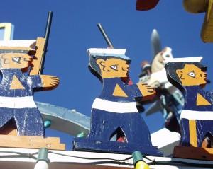 Wooden Soldiers at Hamtramck Disneyland