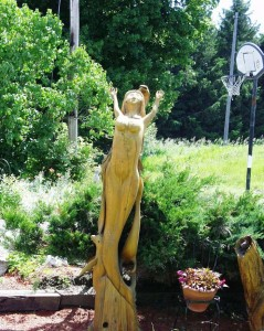 Wooden Mermaid - Robbins Art - Ontario