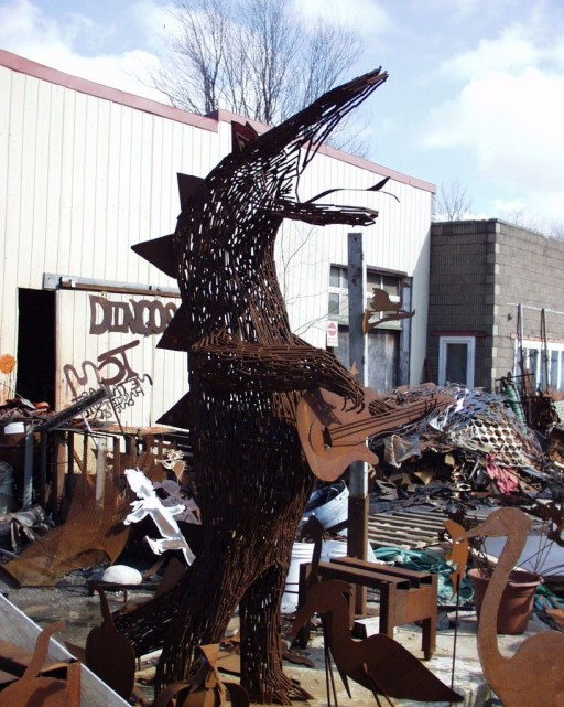 Guitar Playing Scrap Metal Dragon - Harrietsville, Ontario