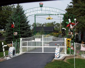 Bruce Windmill Hill Main Gate - Woodstock, Ontario