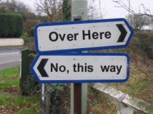 Which Way Do I Go?